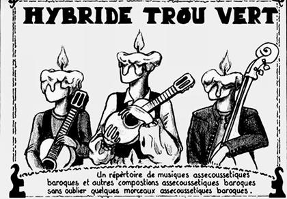 HYBRIDE TROU VERT